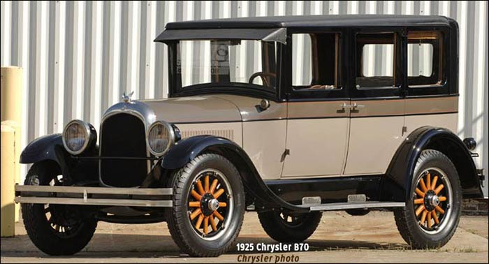 1925 Chrysler B70 car